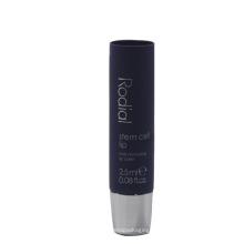 Tubo de embalaje cosmético plástico púrpura 2.5ml para el protector labial