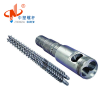 Hot selling twin conical screws and cylinder for PP /PVC/ ABS