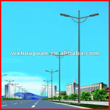 Tapered road lamp posts