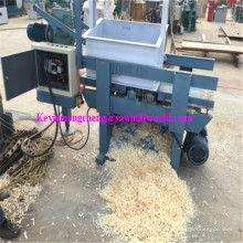 1 Axle 4 Blades Animal Bedding Used Electric Wood Shaving Machine