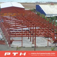 Полуфабрикат экономической Подгонянный Пакгауз стальной структуры с легкой установкой