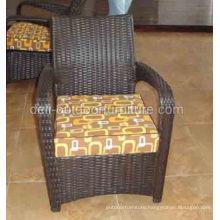 Outdoor Modern PE Rattan Aluminum Frame Chair