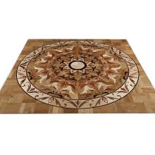 Costumbres hechas suelo de madera del entarimado del arte del roble de gran tamaño