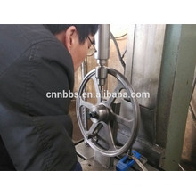 Investment casting custom made steel wheels