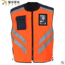 Veste de sécurité réfléchissante couleur personnalisée