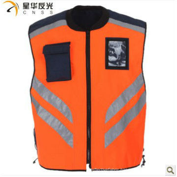 customized design assorted color reflective security vest