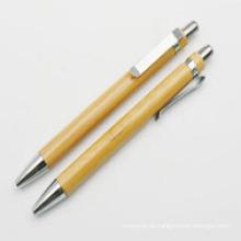 Caneta de presente de negócios caneta de bambu caneta ambiental criativa