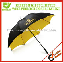 Paraguas de golf a prueba de viento de doble capa