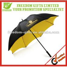 Guarda-chuva de golfe dupla camada à prova de vento