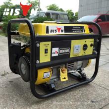BISON (CHINE) TaiZhou OHV 1.5kv Marqueur portable 1.5kw Electric 220v Mini générateur portable