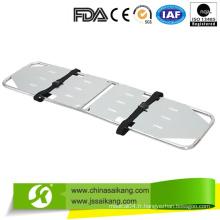 Civière médicale d'utilisation d'aluminium d'All-Safe avec la tête immobilisent