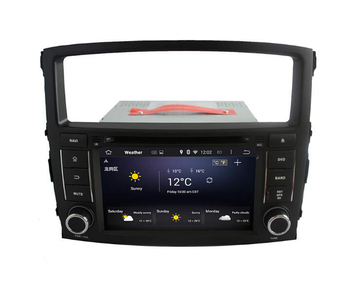 Android Car Audio Player For Mitsubishi Pajero