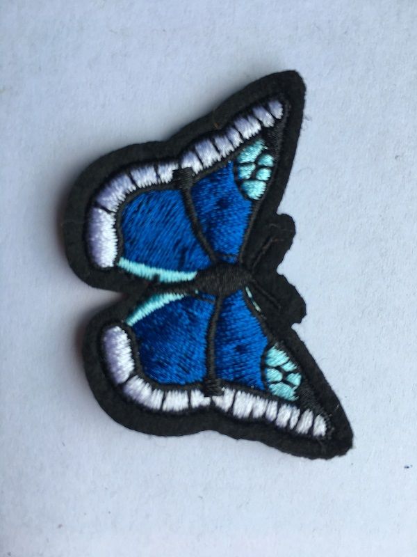 Colorful Butterfly Embroidery