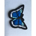 Custom Iron On Butterfly Dog Embroidery Patches