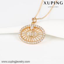 32764- Colgante plateado oro de Xuping Jewelry Fashion con Zircon