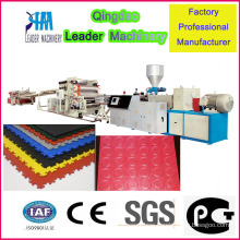 PVC Floor Mats Production Machine