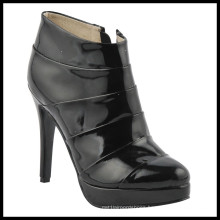 New Style Fashion High Heel Ladies Ankle Boots (HCY02-842)