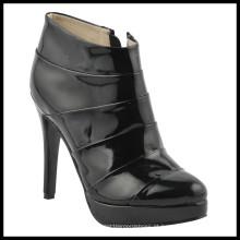 Botas novas do tornozelo das senhoras do salto alto da forma do estilo (HCY02-842)