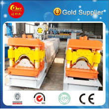 Roof Ridge Cap Steel Tile Making Machine