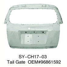Chevrolet Captiva 2008-2011 Tail Gate