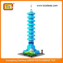 Puzzle éducatif, Taipei 101 jouets