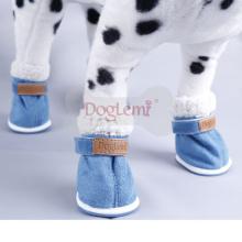 Heimtierbedarf kleine Stiefel Winter Schnee Bootie Hund Schuhe Stiefel