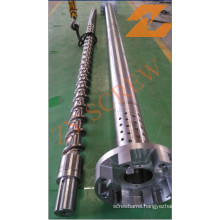 Screw and Barrel for Plastic Recycling Machinery