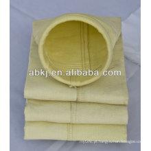 sacos de filtro revestidos da poeira da fibra de vidro do ptfe