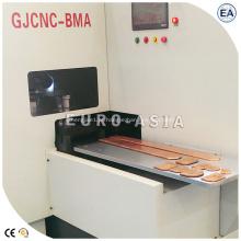 Máquina fresadora e chanfradeira CNC para cobre