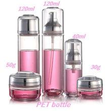 Cor personalizada de 30g 50g 40ml 120ml e garrafa do animal de estimação da impressão