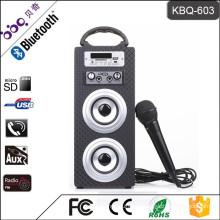 BBQ KBQ-603 10W 1200mAh Bluetooth Mini Subwoofer Speaker