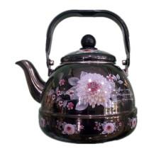 Кухонная посуда, Чайник с эмалевым покрытием, Чайник с эмалевым покрытием, Стальной эмалированный чайник