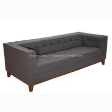 Sofa en bois de tissu d'armature de cadre en bois