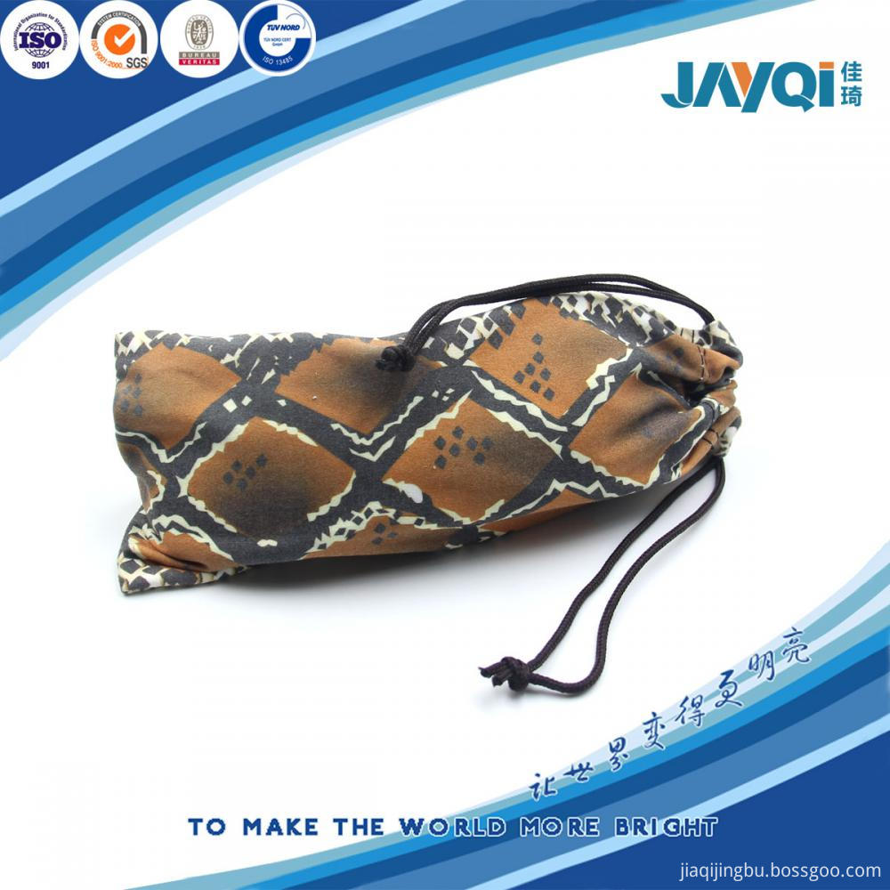 100% Polyester 170gsm Microfiber Sunglass Pouch