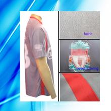 100% Polyester Man's Kurzarm Fußball Tragen
