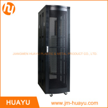 Newest 19 Inch Server Rack and Oraganize Box with Double Vented Rear Door Manufacturer