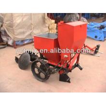 Nuevo tipo de sembradora de patata con tractor, mini sembradora de papas
