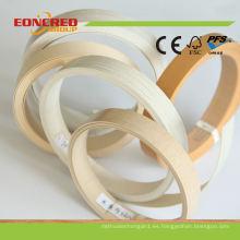 Redondeo de esquinas redondeadas, bandas de borde de PVC, bandas de borde