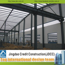 Low Cost Prefabricated Workshop Manufacturing and Assembing Jdcc1048