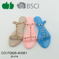 Best Selling New Style Pvc Lady Summer Slippers