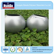 Polvo modificado para requisitos particulares del polvo del metal del alto brillo Ral 9006 capa del polvo del espray