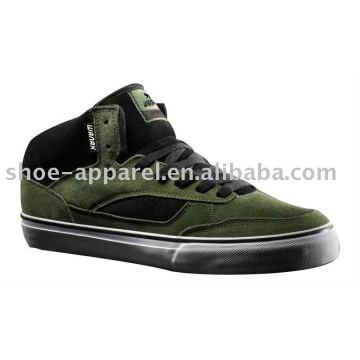2011 mais novos sapatos de skate de camurça de lazer