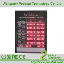 Xchange Rate Display Board \ Bank Exchange Rate Board\ Electronic Rate Display Board