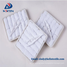 Custom Promotional Cotton Airline Towel Airline refreshing hot towels 100% cotton disposable lemon scented for airplane aviation use