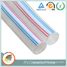 13mm 6bar PVC Transparent Braided Reinforced Hose
