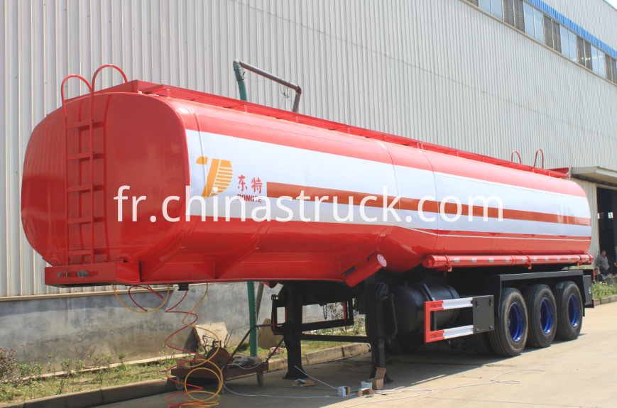 3 axle 40000 liters oil tanker