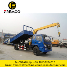 Tipper Truck with Crane for Sale