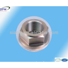 precision maching aluminum hex nut