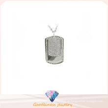 Colar de prata da jóia 925 da mulher da alta qualidade (P5066)