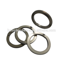 Atacado anel de metal de alta qualidade com logotipo